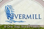 Rivermill community sign